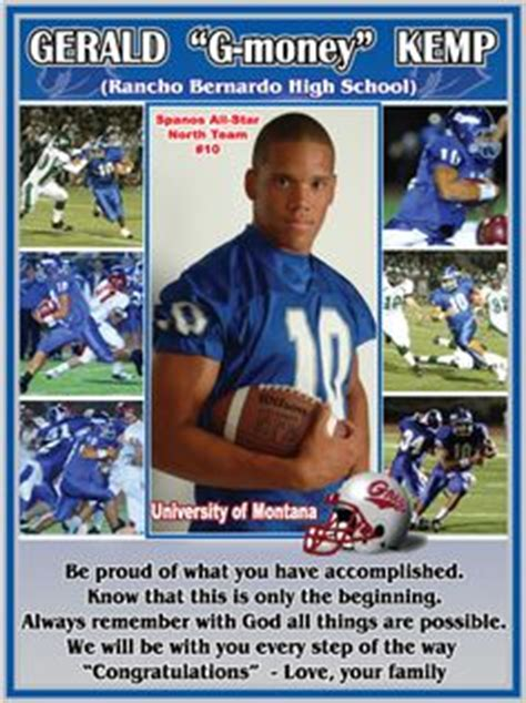 Yearbook Pages Yearbooks And Senior Ads On Pinterest Free Football Program Templates