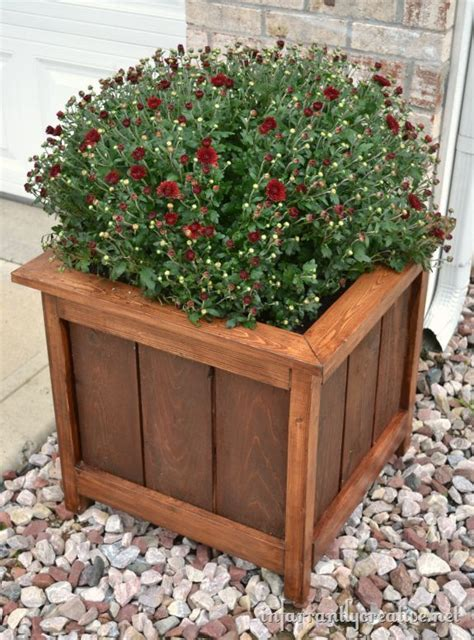 25 best ideas about wood planter box on diy