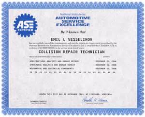 certificates top motor