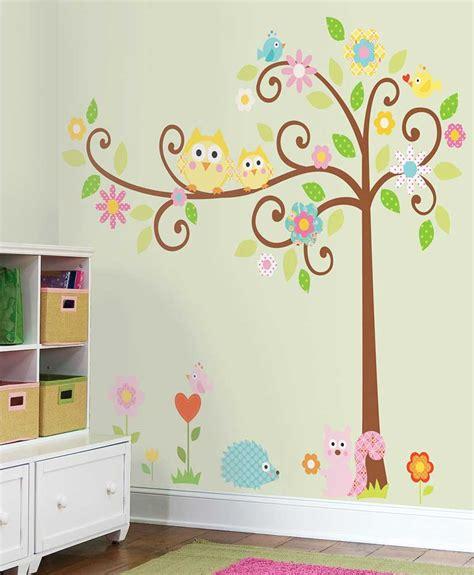 Wandsticker Kinderzimmer by Roommates Mega Pack Wandsticker Wandbild Baum Scroll Tree