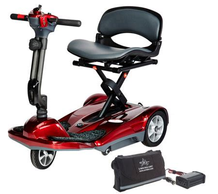porta scooter per auto ev rider portable auto folding scooter w car charger