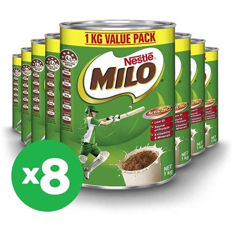 Milo 3 In 1 1 Kg nestle milo 1kg x8 bundle woolworths
