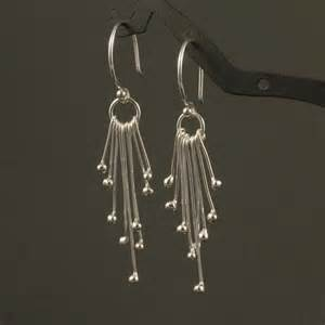 etsy chandeliers silver dangle earrings sterling silver handmade by