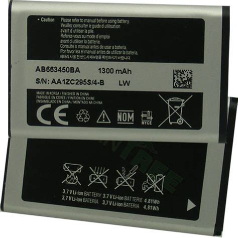 samsung rugby 3 charger samsung rugby iii sgh a997 battery ab663450babstd