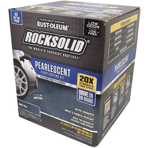 Rust Oleum 306328 RockSolid Pearlescent Floor Coating