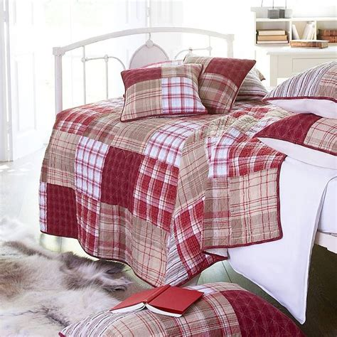 Tartan Patchwork Quilt - and tartan patchwork quilt by marquis dawe