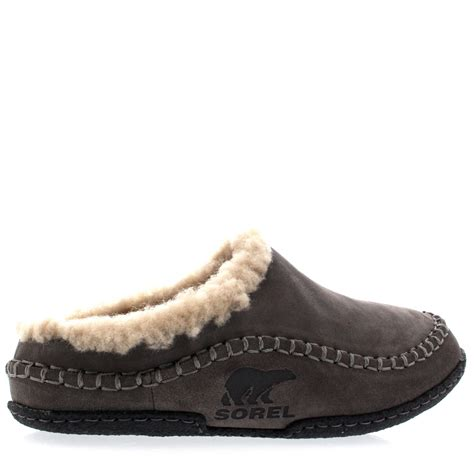 winter house shoes mens sorel falcon ridge casual fur suede winter shoes