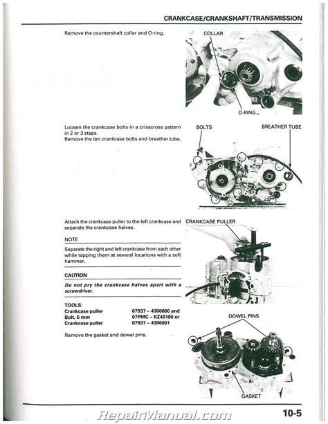 manual repair free 1999 honda civic engine control 1997 1998 1999 honda cr250r motorcycle service manual