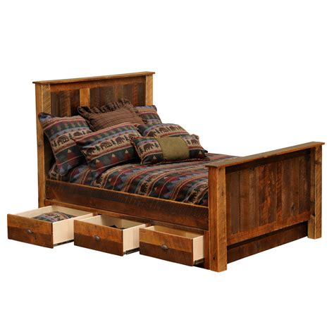 under bed dresser barnwood underbed 3 drawer dresser queen king