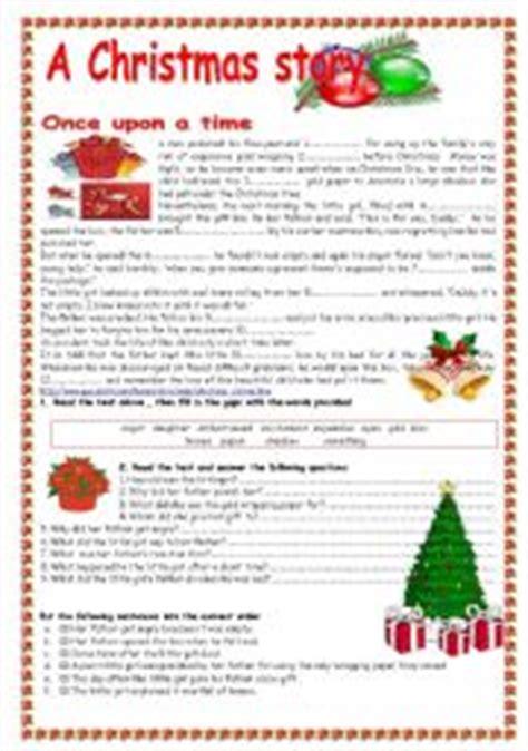 printable christmas reading comprehension christmas comprehension worksheets worksheets tutsstar