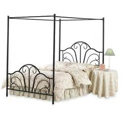 Bed Bath And Beyond Cat Canopy Bed Buy Hillsdale Dover Canopy Bed With Rails In Black