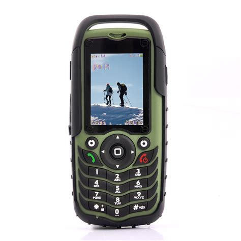 fortis rugged dual sim mobile phone green shockproof