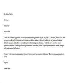 Business Letter Format Appreciation 41 Appreciation Letters In Pdf