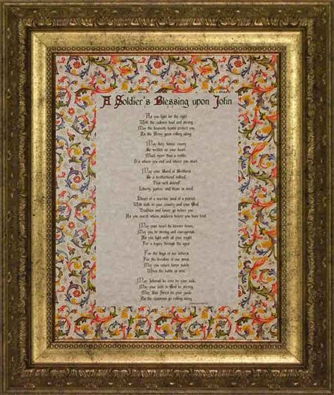 icb prayer bible for children navy and gold books a soldier s blessing traditional 11x14 gold frame