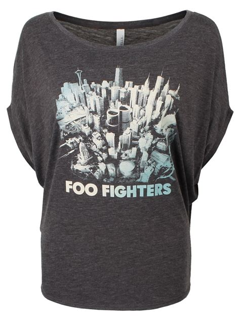 T Shirt Foo Fighters Zero X Store foo fighters sonic highways batwing t shirt buy at grindstore