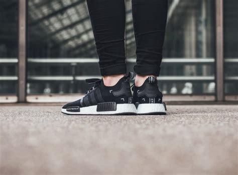 Adidas Nmd R1 Black Gs Original Sneakers adidas nmds r1 pk black white ba8629 shoes 5 discount