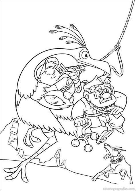 pixar up coloring pages only coloring pages