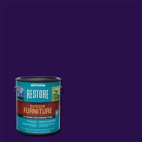 home depot paint purple rust oleum restore 1 gal purple outdoor furniture coating