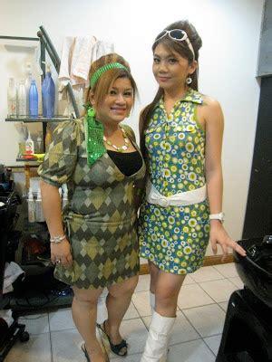 baju kurung 70an 80an fesyen retro di malaysia baju zaman saloma