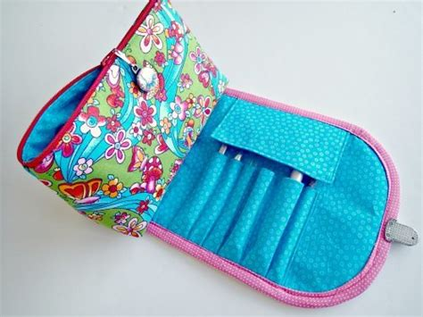 brush easy pattern diy makeup bag for brushes allfreesewing com