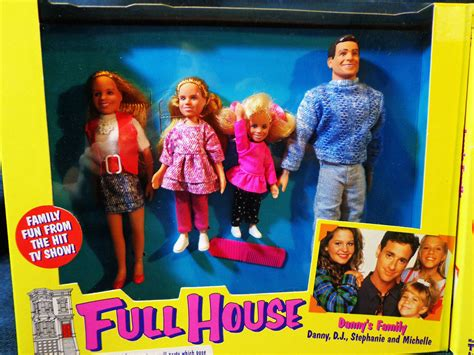 full house michelle doll danny s family from full house dolls by tiger toys danny d j stephanie and