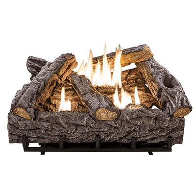 Fireplace Wood Logs by Indoor Fireplaces Faux Fireplace At The Home Depot