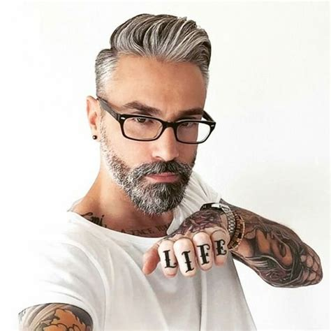 silver fox haircut silver foxes fade haircut and foxes on pinterest