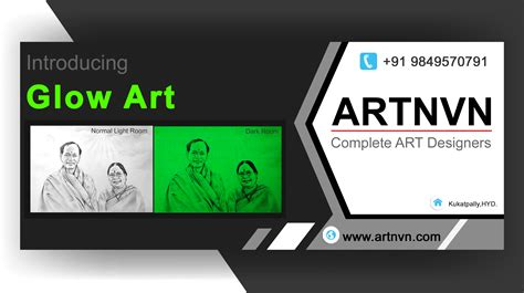 glow in the paint hyderabad glow painting portrait sketch drawing artnvn