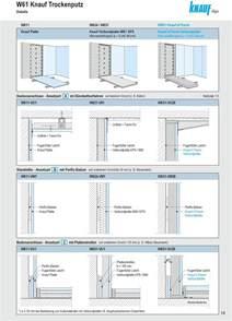 knauf w112 w61 w61 knauf knauf trockenputz und und vorsatzschalen pdf