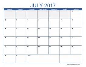 July 2017 calendar template printable full size 2201px x 1701px