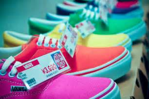 colorful vans colorful cool photography shoes vans image 111701