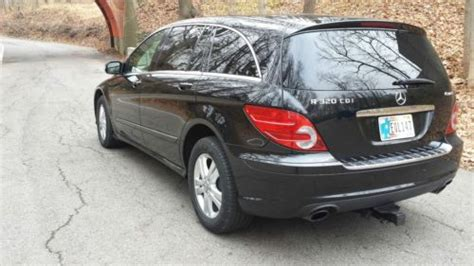 sell used mercedes r320 3 row suv new tires dual dvd