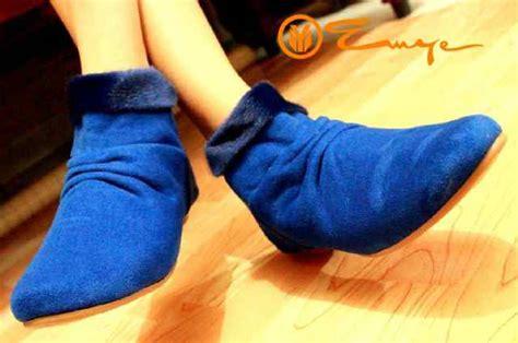 Flat Karet M53 Hitam 4 sepatu sandal flat boots deals for only rp122 000 instead