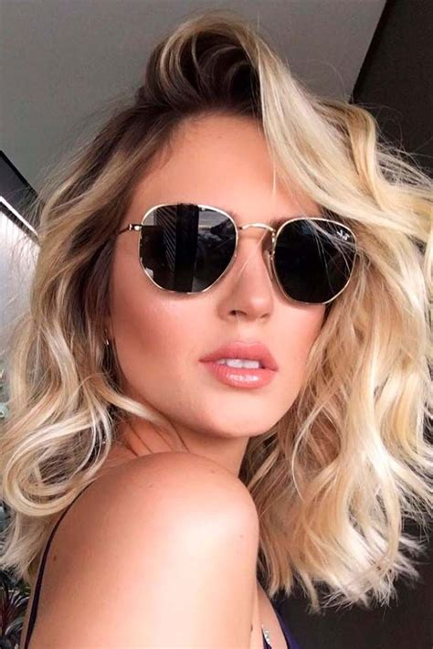 Wavy Hairstyles For by Top 25 Best Wavy Medium Hairstyles Ideas On