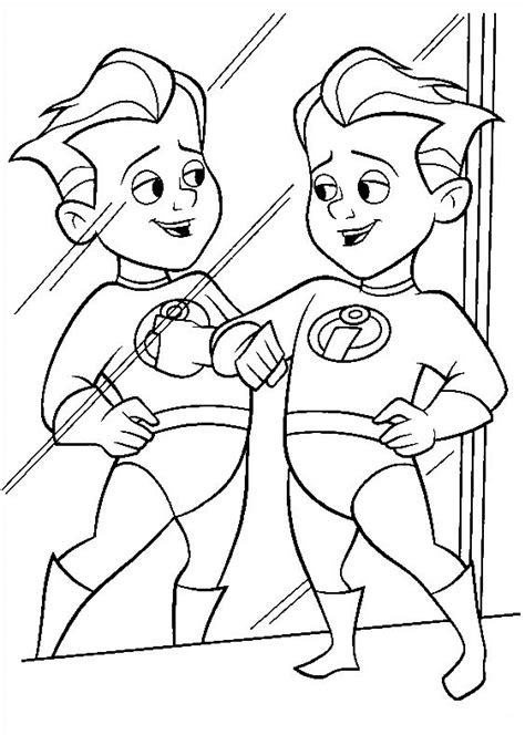 Coloring Page Incredibles by Incredibles Coloring Pages Best Coloring Pages For