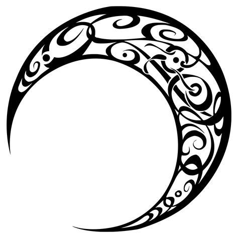 moon tattoo png clipart tribal moon