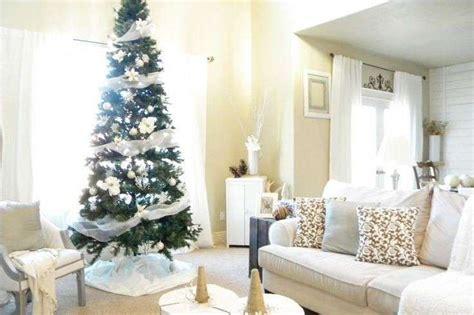 interni natalizi addobbi e albero di natale bianchi foto 3 40 stylosophy