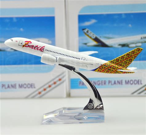 aliexpress shipping to indonesia indonesia batik air 787 16cm airplane models child