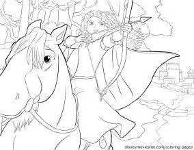 brave colouring pages