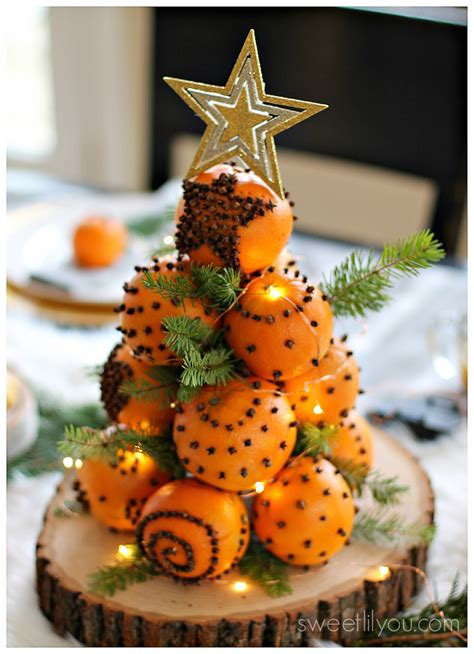 christmas trees that smell like orange orange pomander balls a tradition sweet lil you