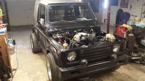 87 Suzuki Samurai Parts Find Used 87 Suzuki Samurai 4 3 Vortec V6 Conversion Fast