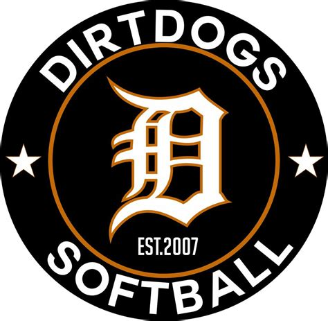 dirt dogs dirt dogs softball