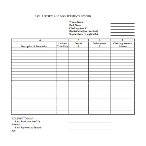 free printable cash receipt journal download cash invoice template uk rabitah net