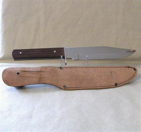 original bowie knife sabre 631 original bowie knife and leather sheath