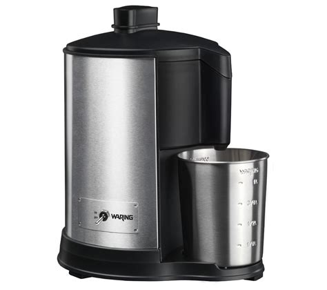stainless steel juicer buy waring wje328u juicer stainless steel free