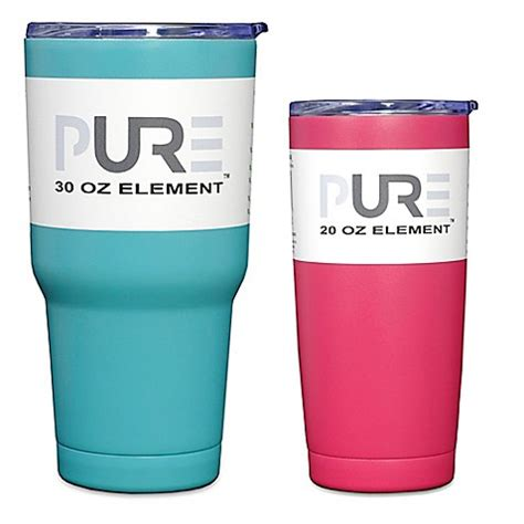 bed bath and beyond tumblers pure drinkware tumbler with lid bed bath beyond