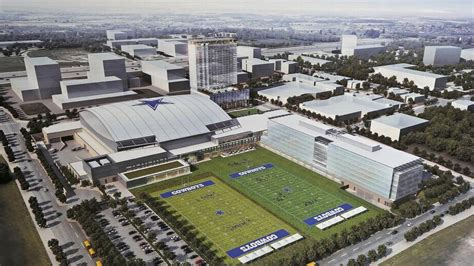 tom jackson from dallas georgia cowboys new complex will be called the ford center at the