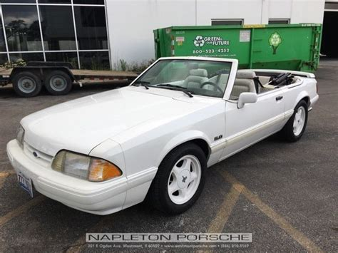 Vanilla Mustang by 1993 Ford Mustang Lx 79680 Vanilla White 2d