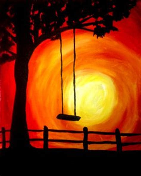 paint nite upland happy pictures and rope swing on