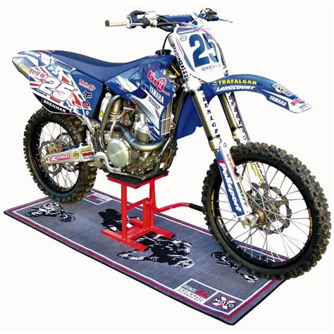 motocross bike stands biketek motocross enduro moto trails bike mx lift stand ebay